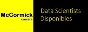 botón data scientists disponibles